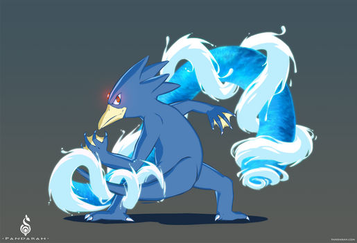 Golduck - Aqua Tail II