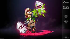 Splatoon X Luigi