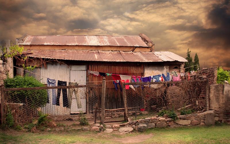 Rancho con ropa par Chechipe