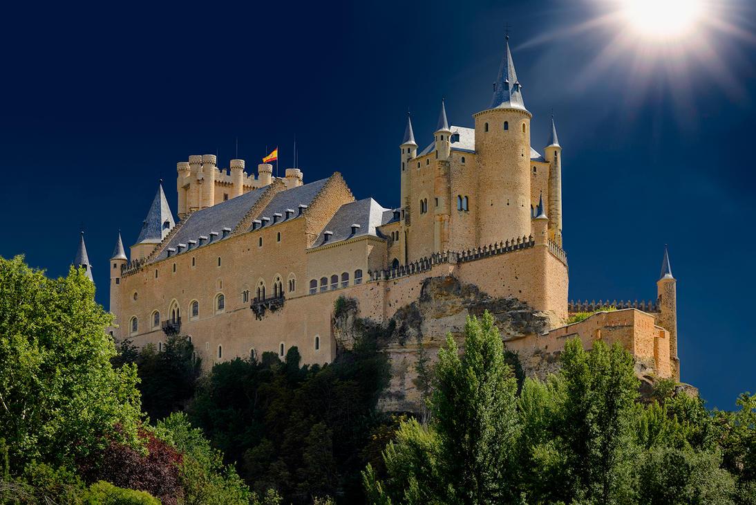 Alcazar de Segovia by Chechipe