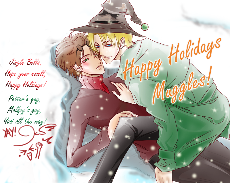 Drarry Holidays by Nofavrell