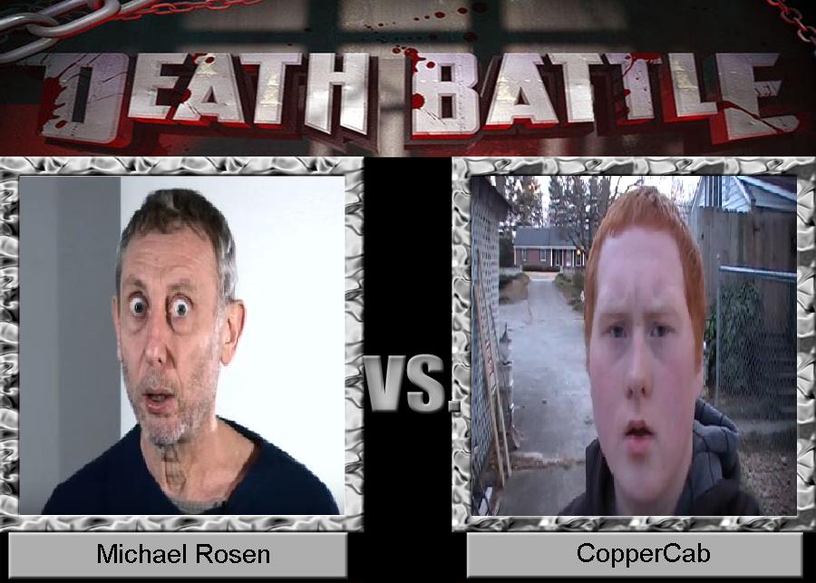 michael rosen vs coppercab by regnoart on deviantart