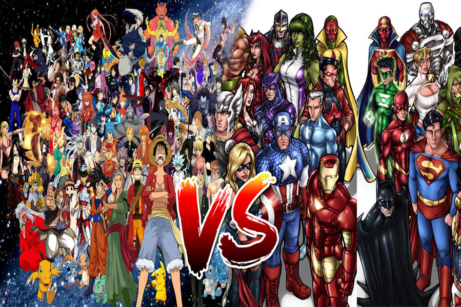 Anime vs. Western Comics and Cartoons | hubpages