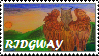 Ridgway the Gryphon stamp by regnoart