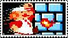 Super Mario Bros. stamp