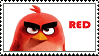 Red (AB Movie) stamp by regnoart