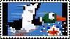 Duck Hunt stamp by regnoart