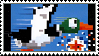 Duck Hunt stamp by regnoart