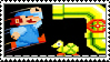 Mario Bros. stamp by regnoart