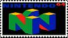 Nintendo 64 logo stamp by regnoart