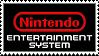 Nintendo Entertainment System (NES) logo stamp by regnoart