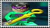 Lego Batman - The Riddler stamp by regnoart