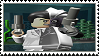 Lego Batman - Two-Face stamp by regnoart