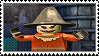 Lego Batman - Scarecrow stamp by regnoart