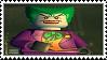 Lego Batman - The Joker stamp by regnoart