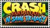 Crash Bandicoot N. Sane Trilogy stamp