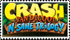 Crash Bandicoot N. Sane Trilogy stamp by regnoart