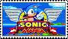 Sonic Mania stamp by regnoart