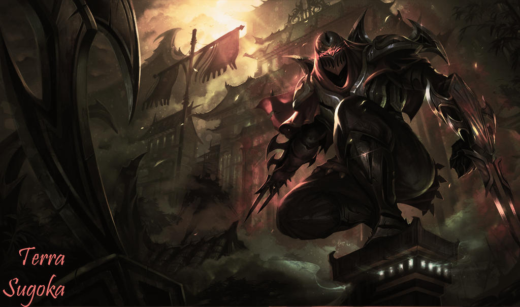 Zed the master of shadows by TerraSugoka on DeviantArt