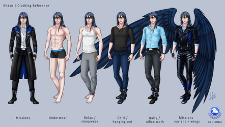 Khayn - Clothing Reference by DoveStation