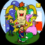 Adventure Time in Mushroom Kingdom by jakks004