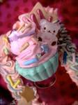 Sprinkle Teddy Cupcake Ring
