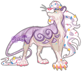 [ADOPT] Marbled Galaxy Cookie (CLOSED)