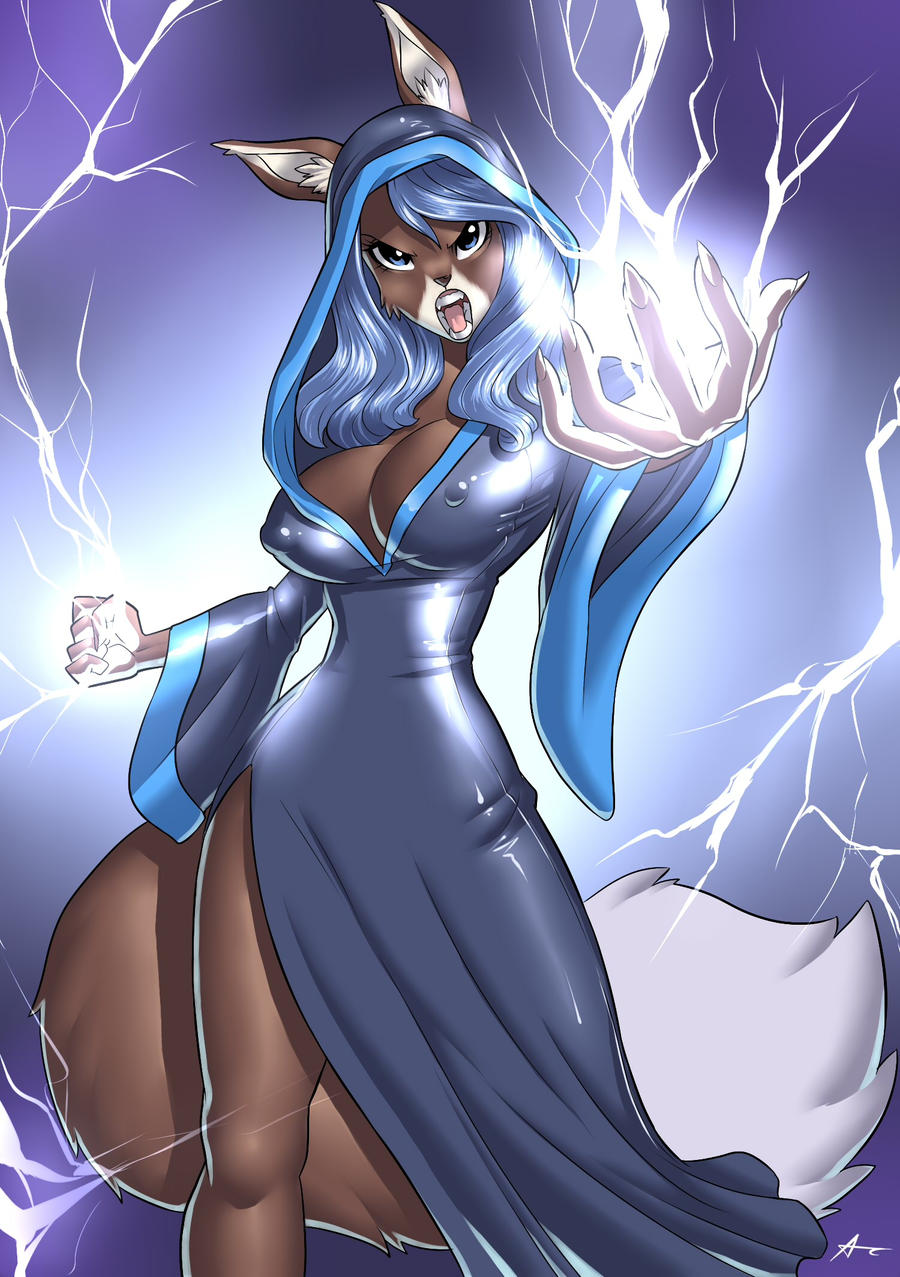 Azure Commission by playfurry