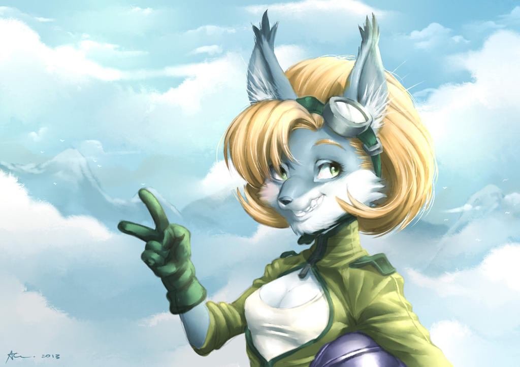 Aero Furry by playfurry