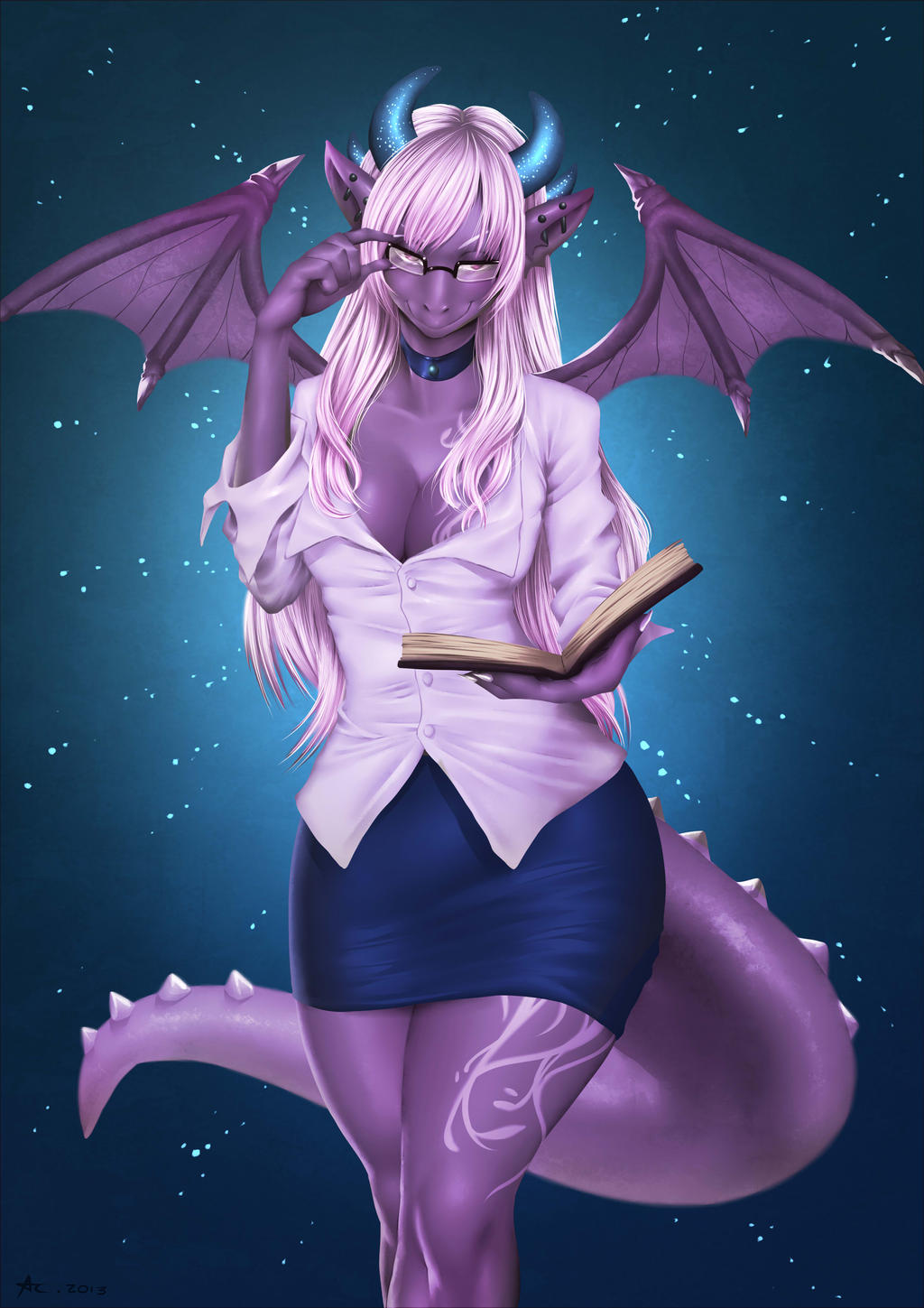 Dragon Female by playfurry