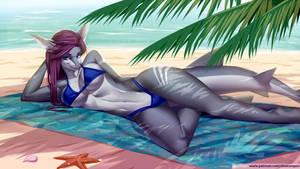 Shark on Beach (Pack06)