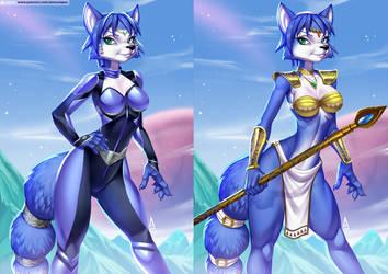 Krystal StarFox (Pack 08) by playfurry