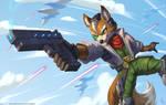 Fox McCloud by playfurry