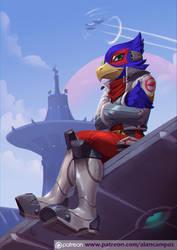 Falco Lombardi by playfurry