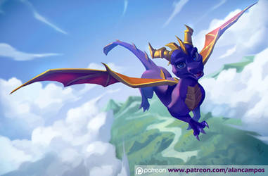 Spyro by playfurry