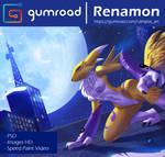 Gumroad _ Renamon Redraw