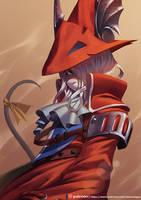Freya - Final Fantasy by playfurry