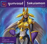 Sakuyamon - Gumroad by playfurry