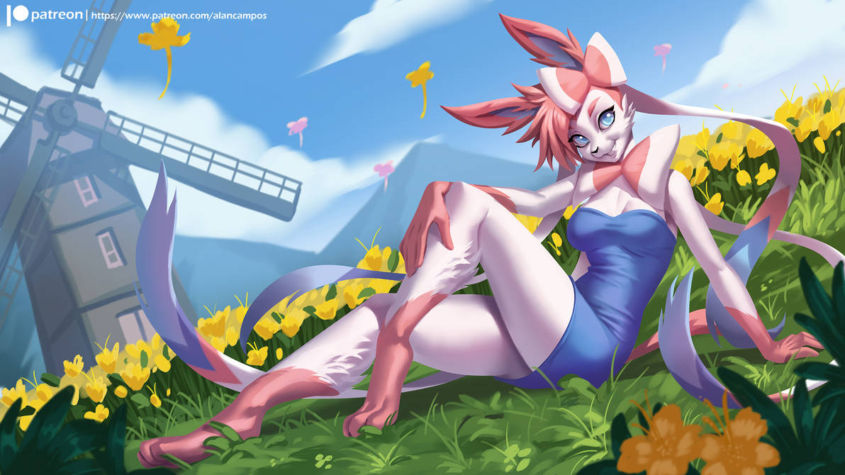 Sylveon by playfurry