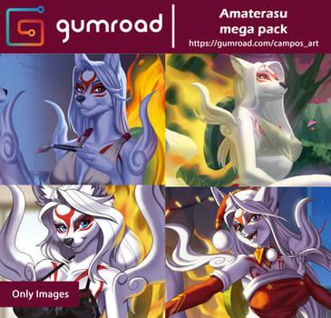 Amaterasu Mega Pack by playfurry