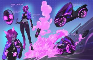 Pink Demon - RadicalRacer OOC