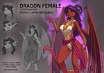 Dragon Female Customizable Base