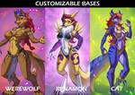 Customizable Bases Bundle 02