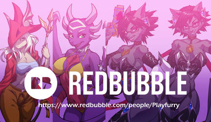 Redbubble Updated 01 by playfurry