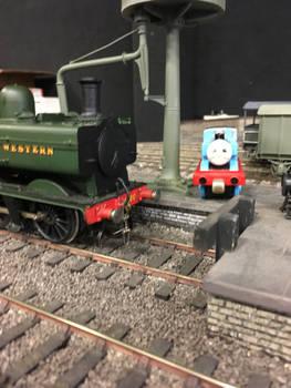 Thomas and the Pannier Tank at Howarth Junction