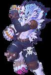 Weregarurumon (Render) - Digimon