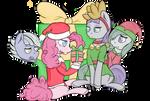 Pie Family Xmas