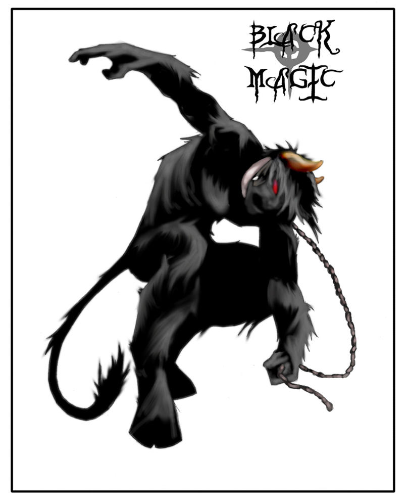 Black Magic - Rolling Calf by Di-Rassa