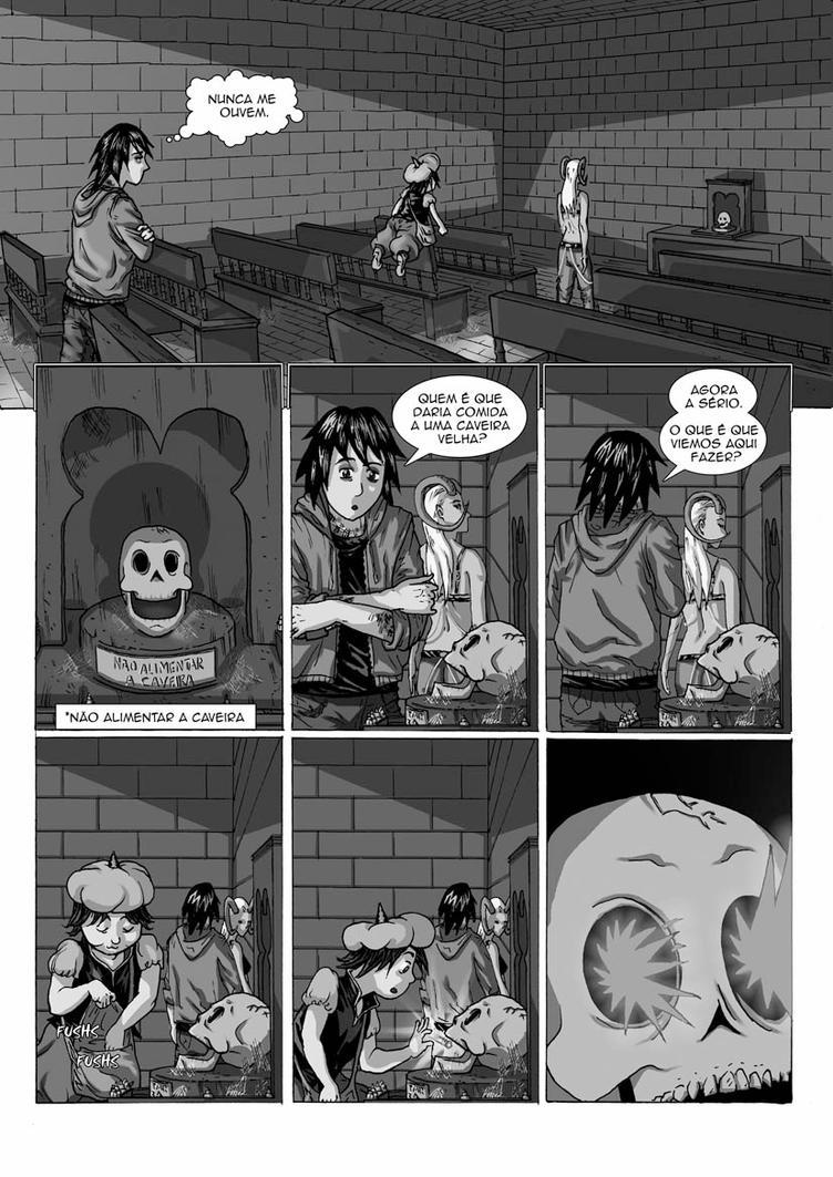 Nao alimentem a caveira - pagina 4 by jackolta