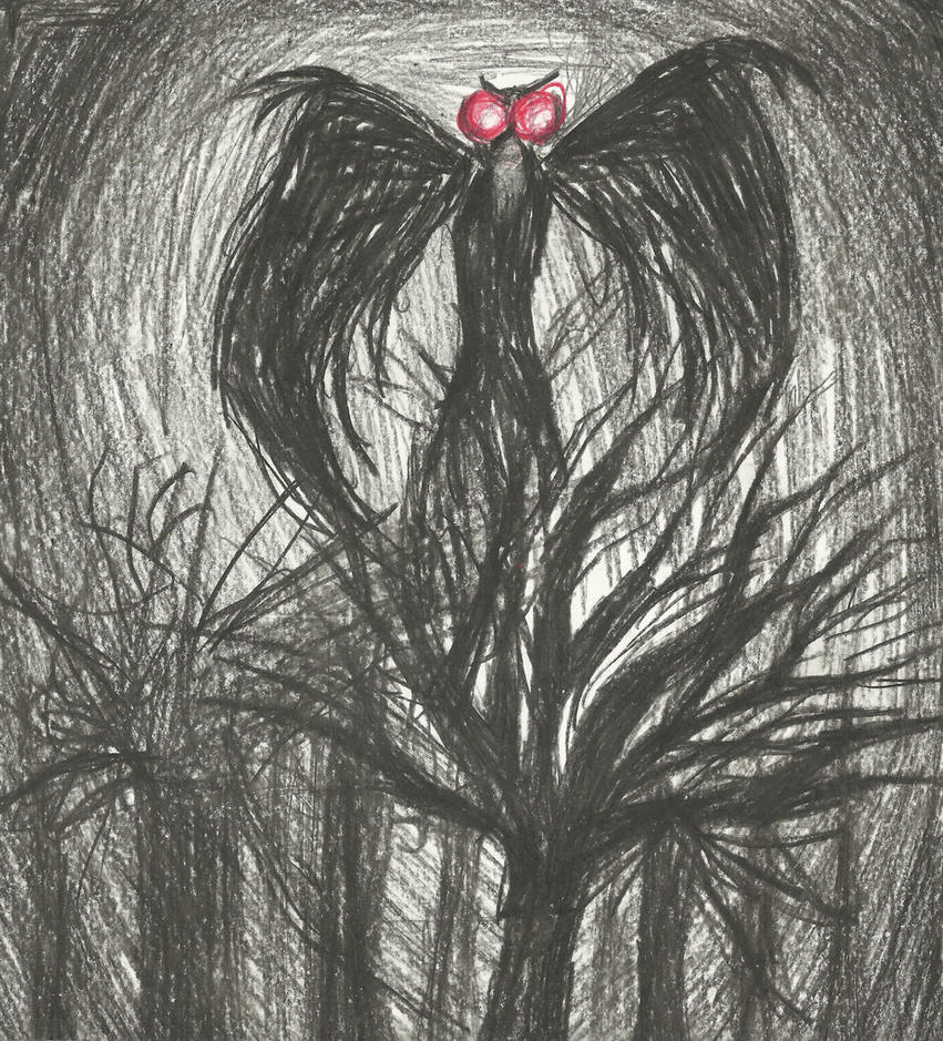 The Mothman by pink12301 on DeviantArt
